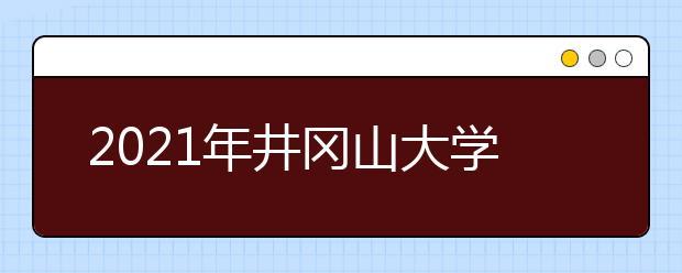2021年井冈山大学有哪些王牌专业?
