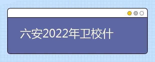 六安2022年卫校什么专业适合女生