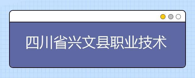 四川省兴文县职业技术学校都有什么专业?